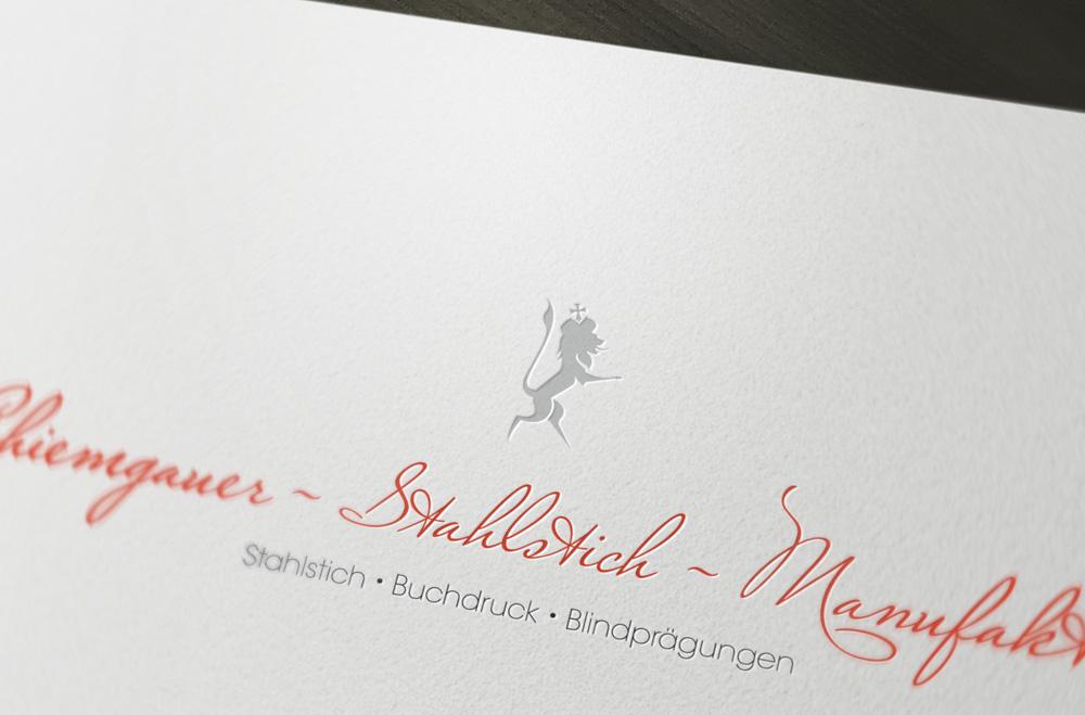 Chiemgauer Stahlstich Manufaktur Metapaper